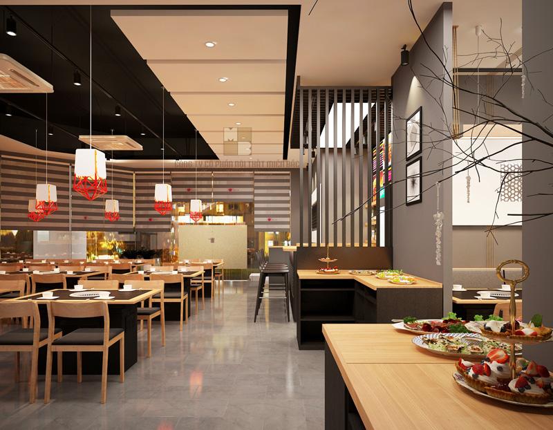 tư vấn thiết kế nội thất nhà hàng 1