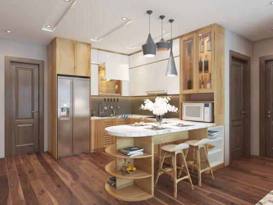 Thiết kế phòng bếp - Nội thất Vạn Phúc