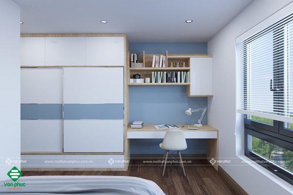 Thiết kế nội thất phòng ngủ cho căn hộ 20m2