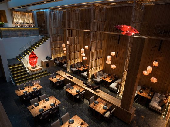 Phong cách thiết kế nội thất nhà hàng Nhật Bản