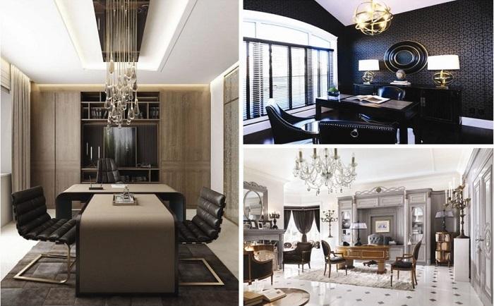 Thiết kế văn phòng Luxury